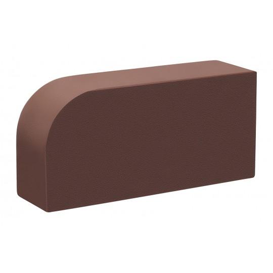 Кирпич полнотелый R60  М300 тёмный шоколад